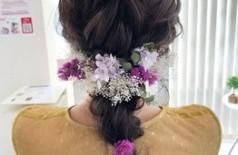 GWも!結婚式のヘアセットはfemmeで♪