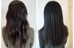 髪質改善ヘアエステでくせ毛が伸びる?
