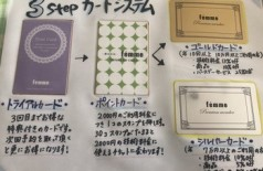 ファムのカードシステム