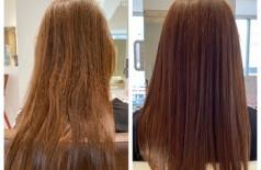 根元矯正の毛先髪質改善ヘアエステ